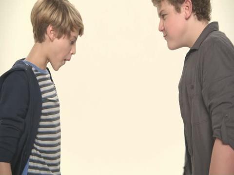 Nick Stars Bubble-Blowing Contest Jace Vs Sean