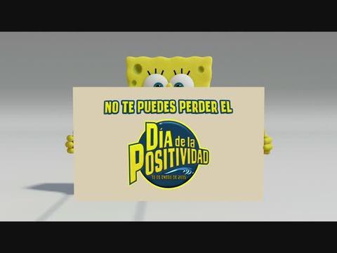 Celebra el día de la positividad con Bob Esponja