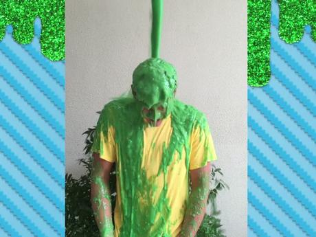 Daniel Padilla Gets Slimed!
