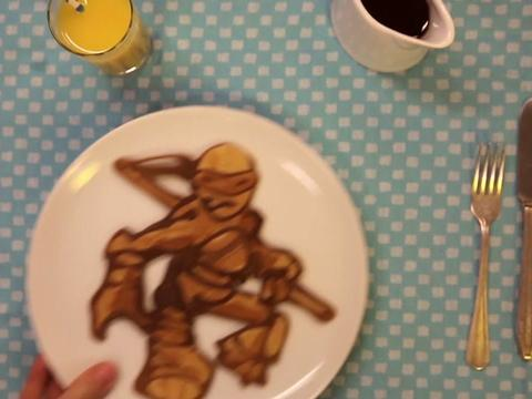 Il pancake delle Tartarughe Ninja