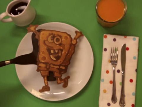 Pancake SpongeBob!