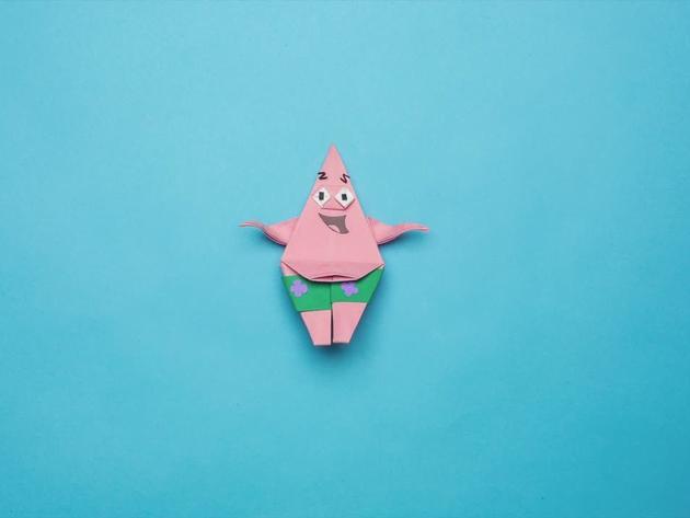 L'origami di Patrick Stella