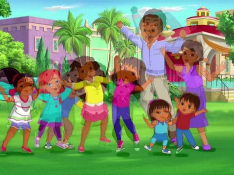 Dora y sus amigos de lunes a viernes 16:15h