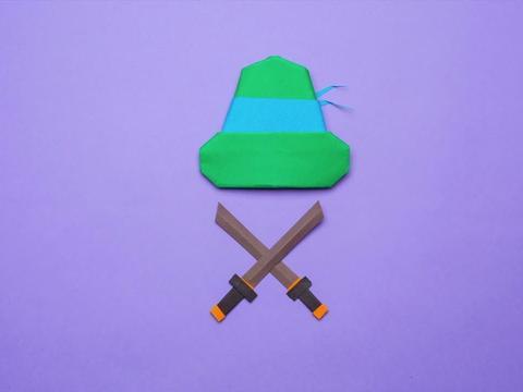 L'origami delle Tartarughe Ninja
