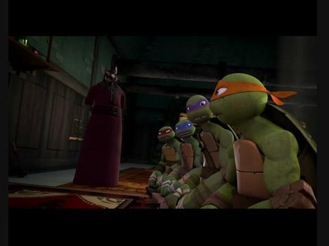 Ninja Kaplumbağalar Ninjaların Yükselişi Bölüm1