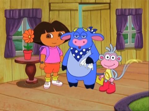 Dora ayuda a Benny