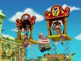 ¡Las marionetas!