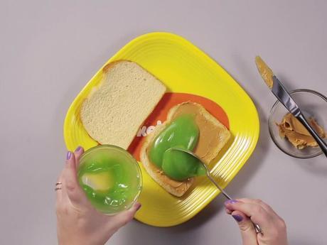 Mantequilla de maní y Slime... ¡mmm!