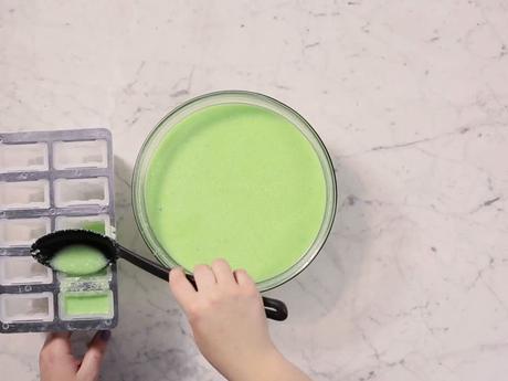 ¡Prepara paletas heladas de Slime!