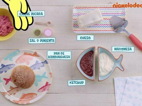 La esponja cocinera: Receta Bikini Burger