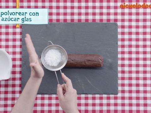 La receta salami de chocolate