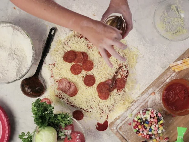 TARTARUGAS NINJA | SHORT | Pizza de Tartaruga