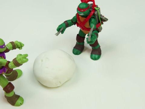 ¡Crea tu tarta de las Tortugas Ninja!