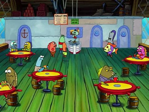 Spongebob Golden Moment: Krabby Patty Training