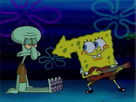 SpongeBob Golden Moment: Campfire Song Song