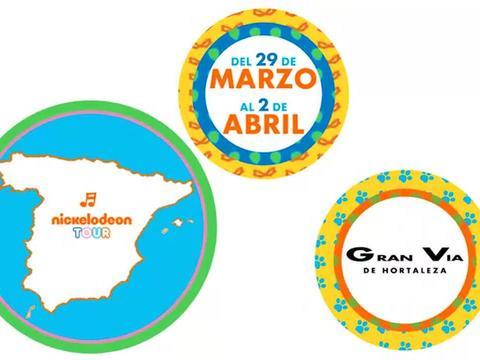 Nickelodeon Tour - Gran Vía de Hortaleza (Madrid)