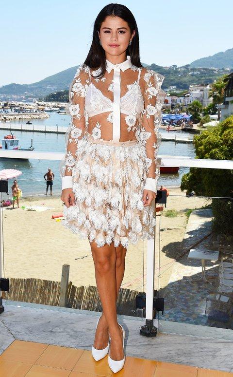 Selena Gomez At The Ischia Global Film Amp Music Fest In Italy
