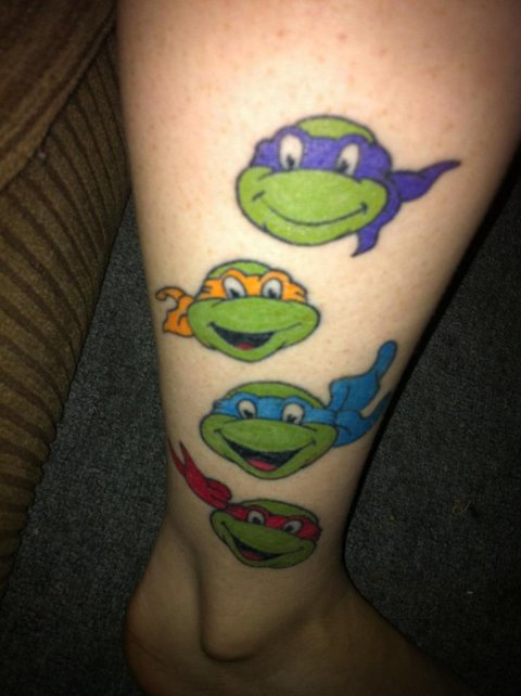 19 radical tmnt tattoos to get before you see the new movie mtv