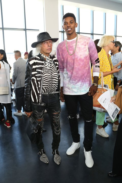 This Might Be The Most Basketball Moment Of New York Fashion Week Mtv