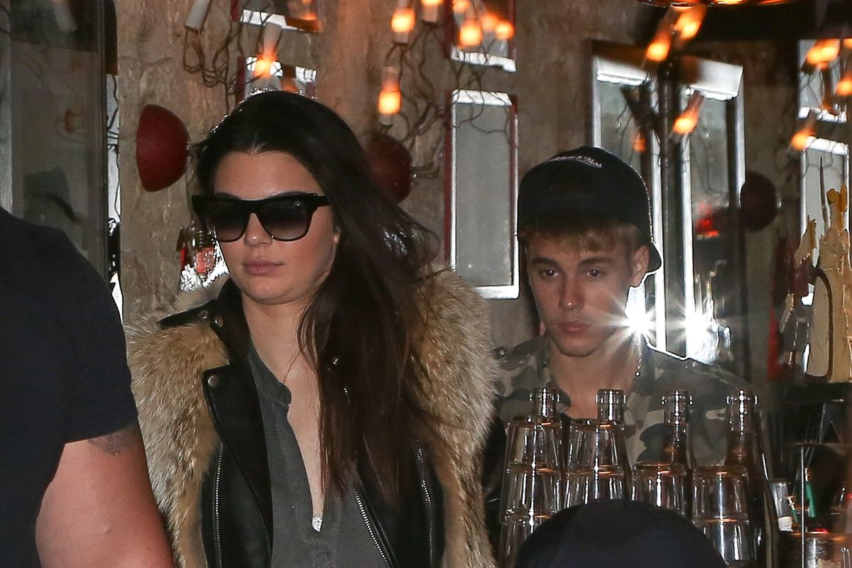 Kendall Jenner and Justin Bieber  Sighting In Paris