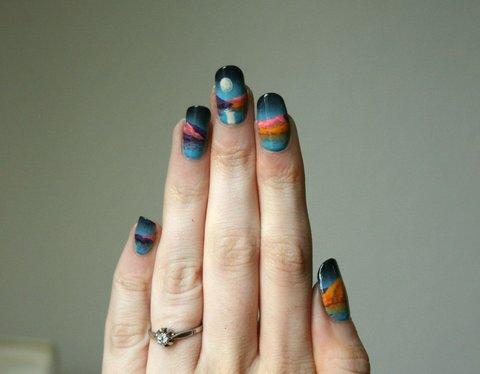Scenic Nail Art