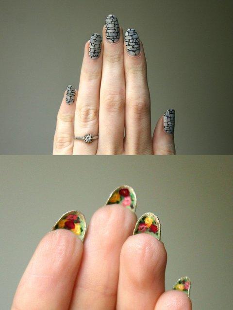 Secret Garden Nail Art