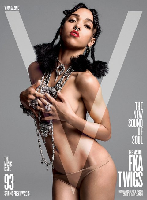 FKA Twigs, Tinashe, And Jessie Ware Round Out 'V' Magazine's Music Issue
