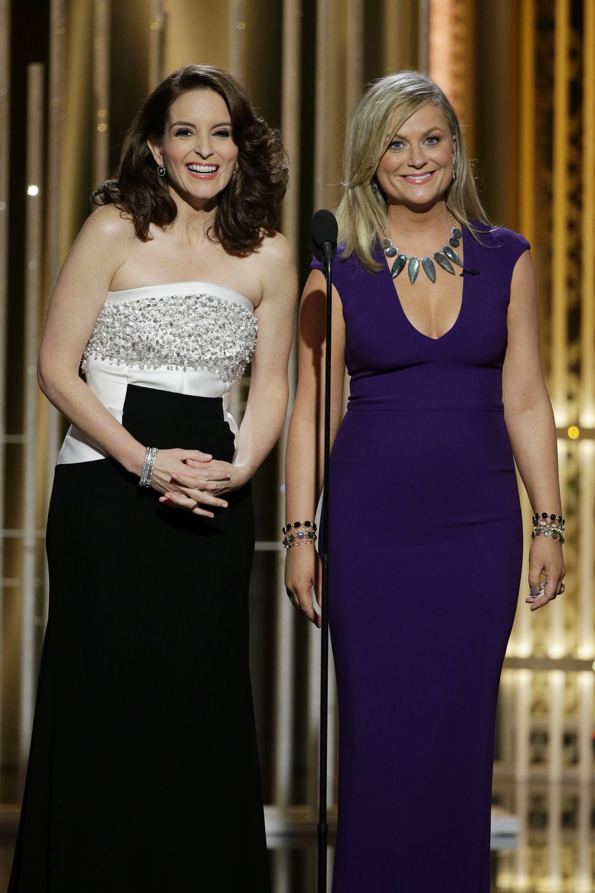 Tina Fey and Amy Poehler Hosting 2015 Golden Globes