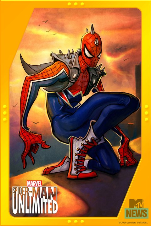 Anarchy In The Marvel U: Punk Spider-Man Is Headed To ...