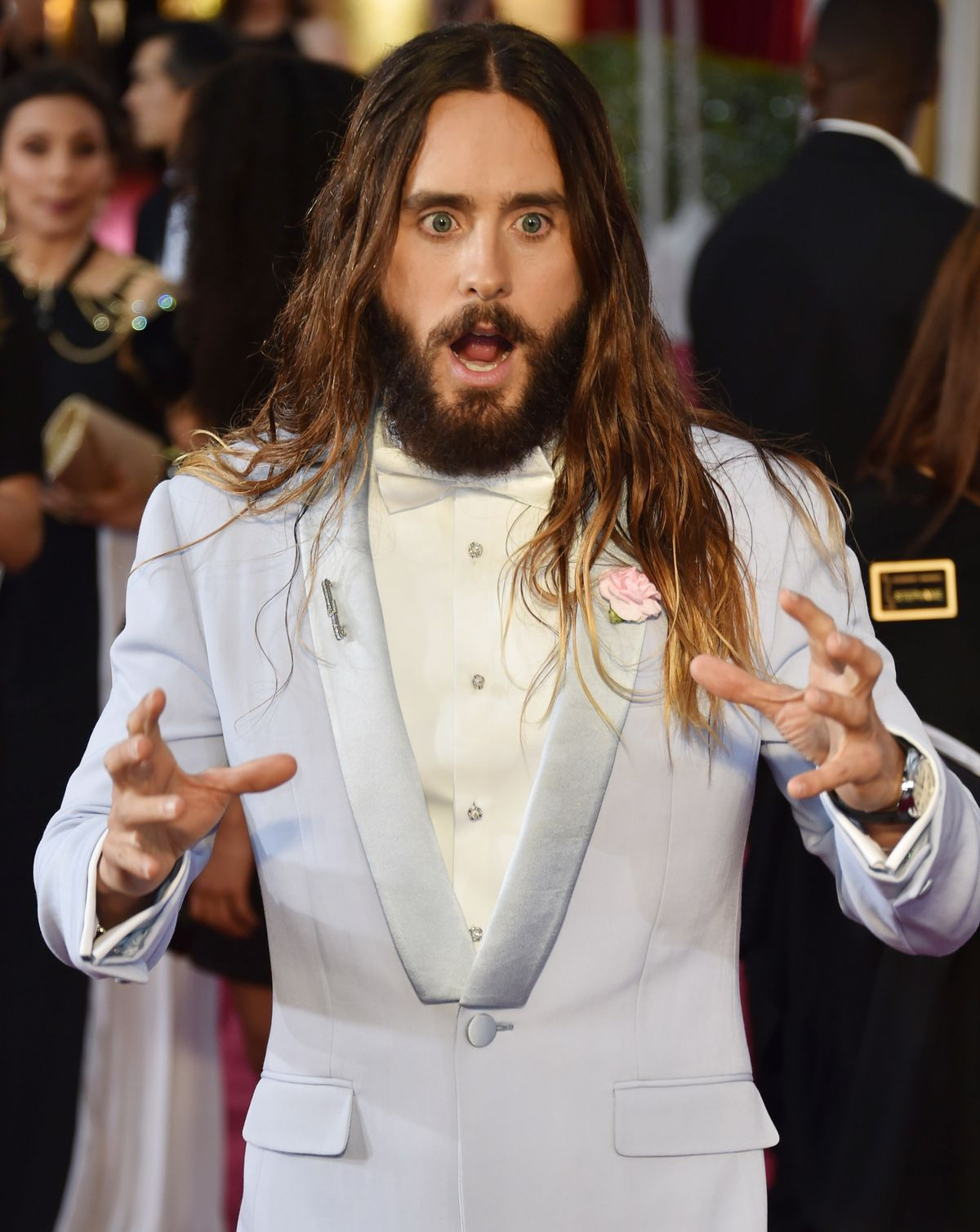 14 Pictures Proving That Jared Leto Had More Fun Than Anyone On Oscar Night Leto3-1424700317.jpg?quality=0