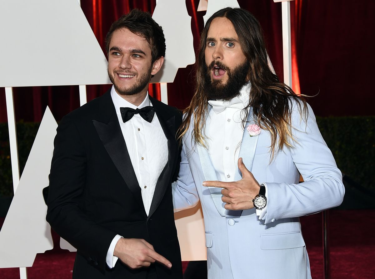 14 Pictures Proving That Jared Leto Had More Fun Than Anyone On Oscar Night Leto4-1424700312.jpg?quality=0