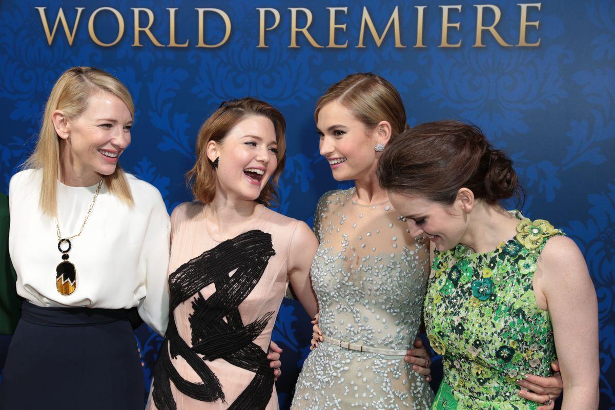 Cate Blanchett, Holliday Grainger, Lily James, Sophie McShera