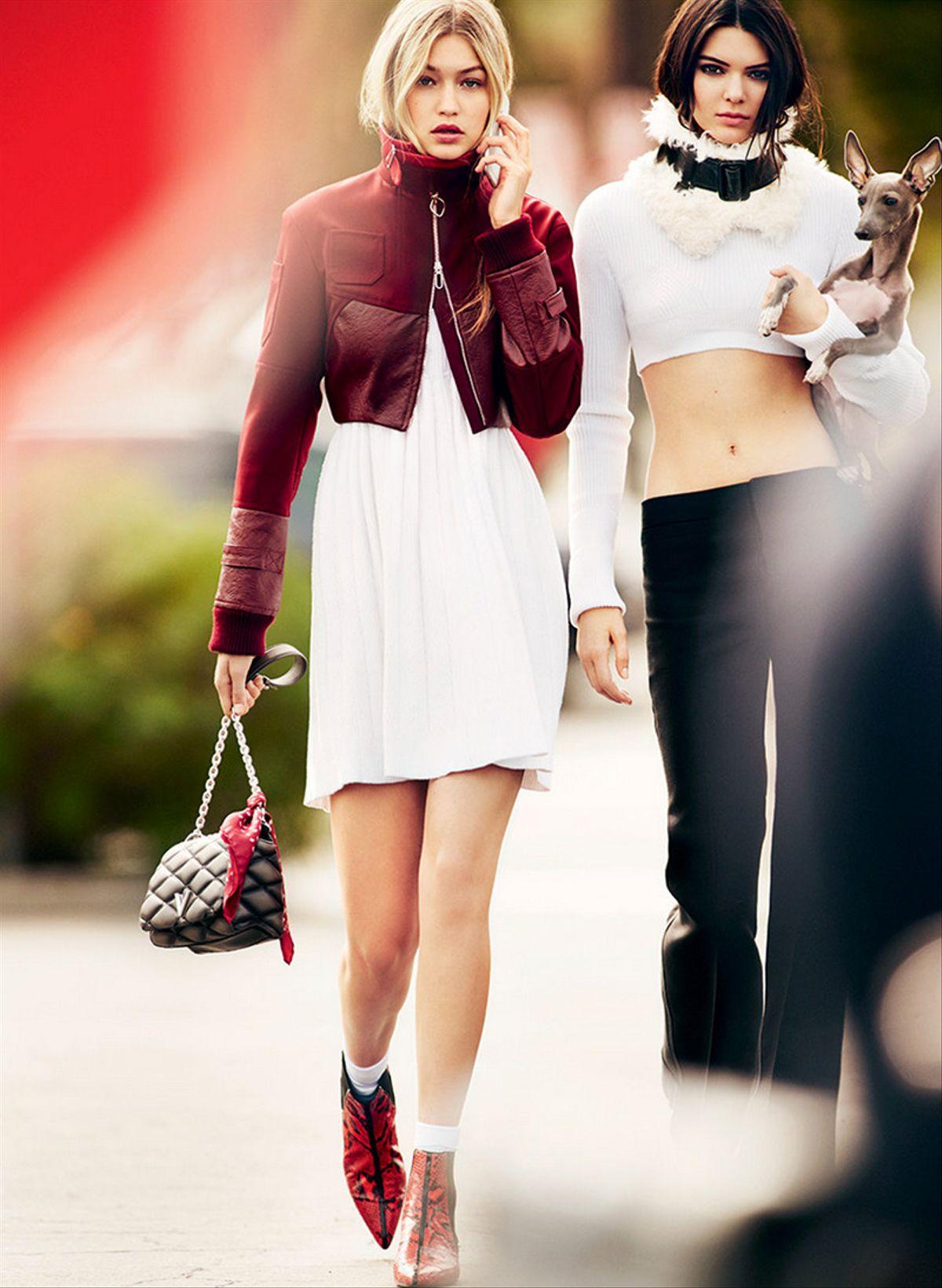 Gigi Hadid, Kendall Jenner