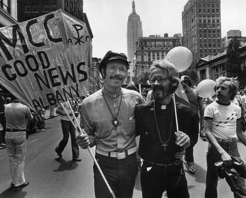 gay liberation of 1970s and connection to aids