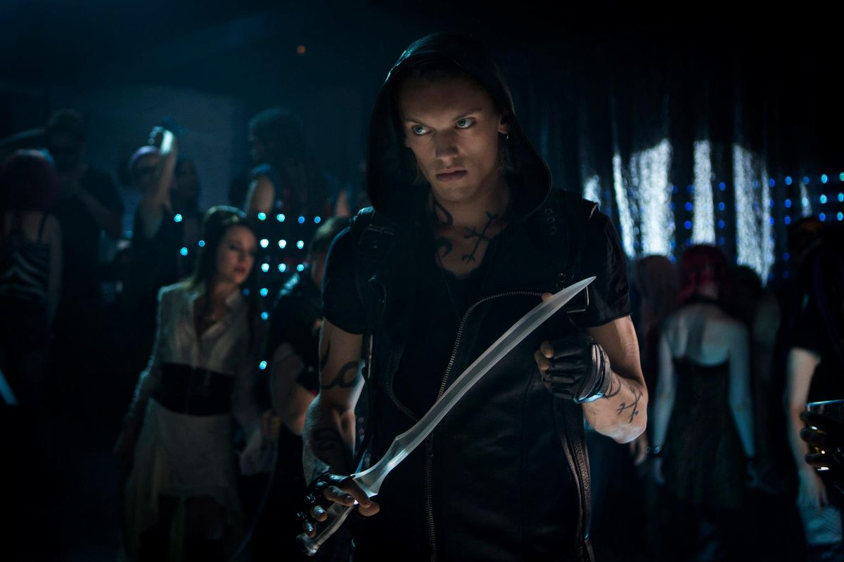Jace in 'The Mortal Instruments'
