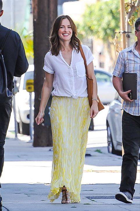 Celebrity Sightings In Los Angeles - March 24, 2015