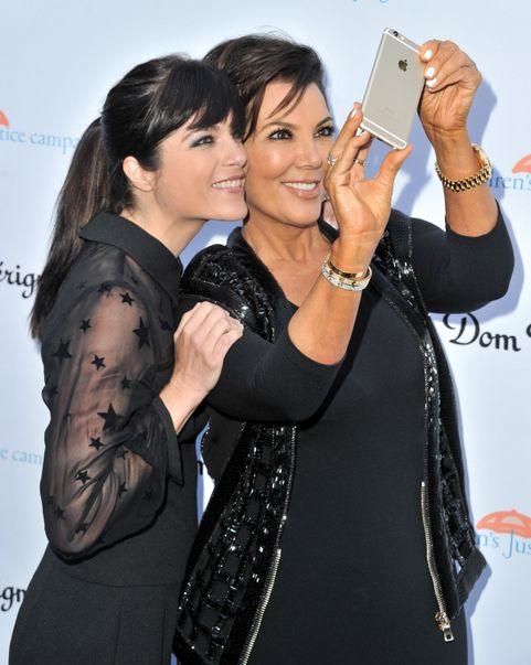 Selma Blair and Kris Jenner