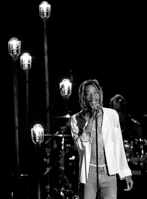 Wiz Khalifa at the 2015 Billboard Music Awards