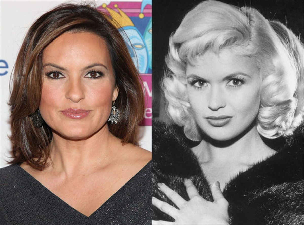 Rumer willis and 13 more celebs who look just like their for Mariska hargitay mother and father