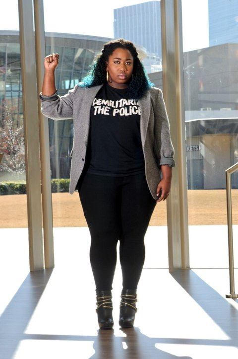 the black lives matter movements fight against racism and violence of the police Donald trump believes the black lives matter movement has in some cases helped instigate the recent killings of police officers.