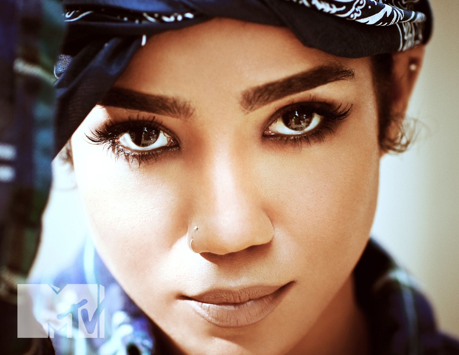 Jhene Aiko does Tupac's Greatest Hits album cover.
