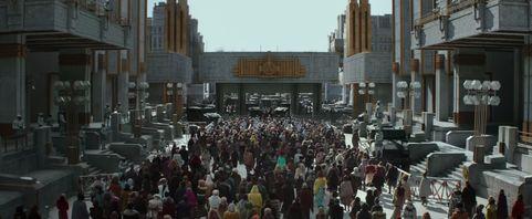 Mockingjay Part 2 Trailer crowd march