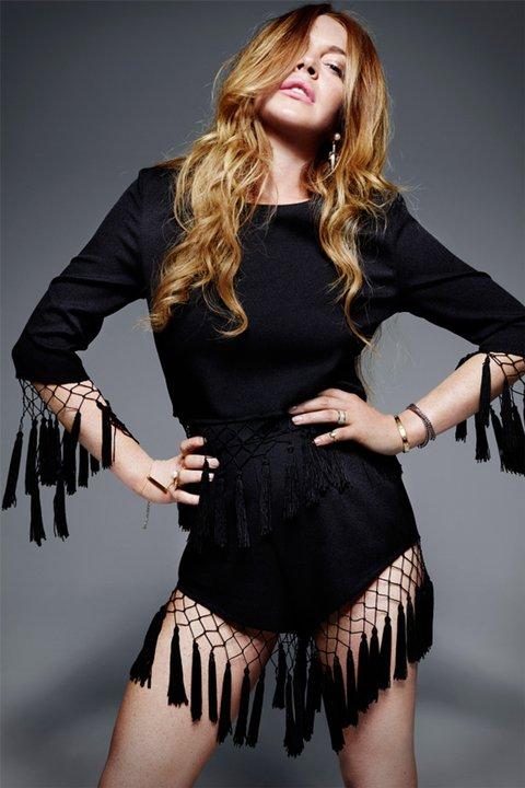 Sometimes Fashion Designer Lindsay Lohan Reveals Latest ...