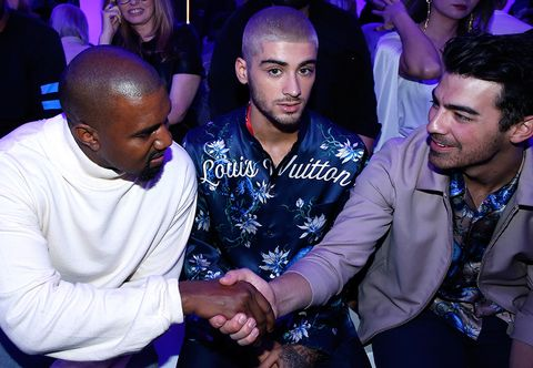 Kanye West, Zayn Malik, Joe Jonas