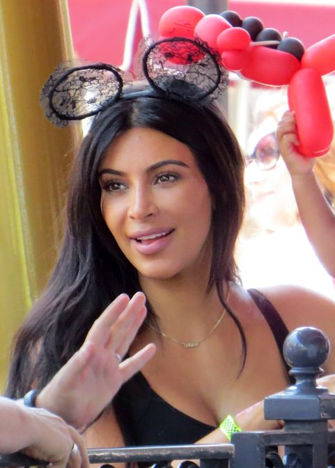 Kim and Kanye celebrate North's 2nd Birthday at Disneyland with the rest of their family.