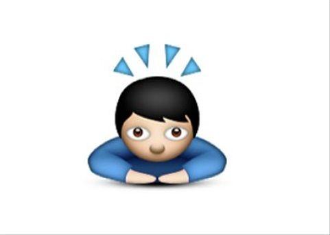 Bowing Guy Emoji