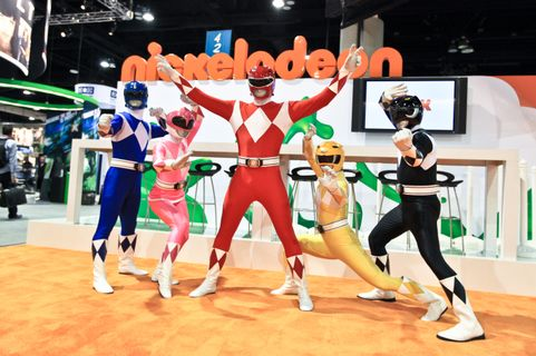 SAN DIEGO - JULY 22:  The Mighty Morphin Power Rangers attend Comic-Con International at the San Diego Convention Center on July 22, 2010 in San Diego, California.  (Photo by Chelsea Lauren/Getty Images for Saban Brands)