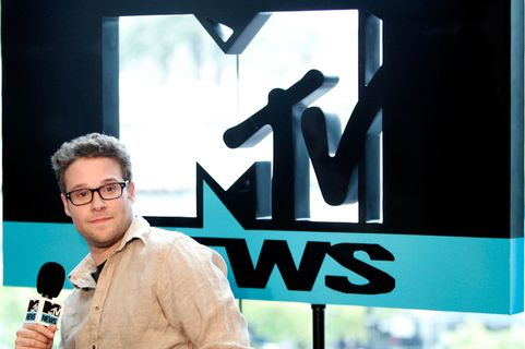 SAN DIEGO - JULY 22:  Actor Seth Rogen at the MySpace/MTV Tower at Comic Con on July 22, 2010 in San Diego, California.  (Photo by Jerod Harris/Getty Images for MySpace)
