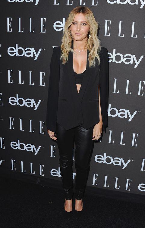 Ashley Tisdale Black Suit