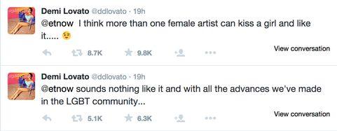 Demi Lovato's Twitter